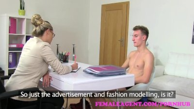 Preview 3 of Femaleagent. Milf Gets An Unexpected Creampie From Saucy Stud