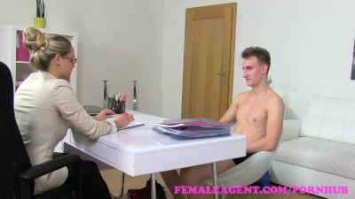 Preview 5 of Femaleagent. Milf Gets An Unexpected Creampie From Saucy Stud