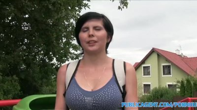 Preview 1 of Publicagent Quiet 19 Year Old With Big Tits Fucked In Photo Studio