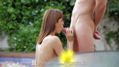 Passion-HD - Hot Carol Vega shows off her skills by the pool