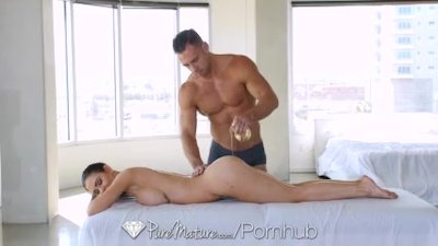 Preview 4 of Puremature Milf Kendall Karson Aged Pussy Massaged And Fucked