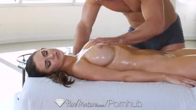 Preview 6 of Puremature Milf Kendall Karson Aged Pussy Massaged And Fucked
