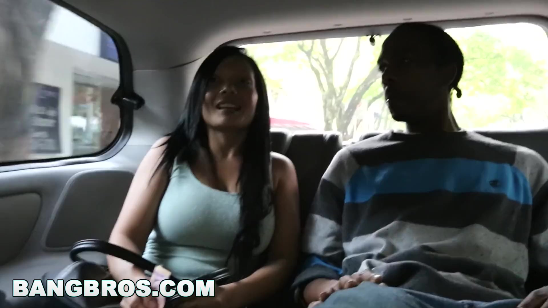 Preview 3 of The Bangbus In Colombia Fucking A Big Booty Latina Milf