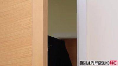 Preview 3 of The Wedding Pact - Ella Hughes & Eva Lovia & Luke Hardy