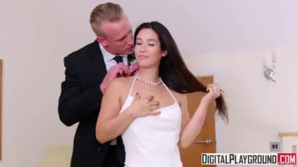 Preview 4 of The Wedding Pact - Ella Hughes & Eva Lovia & Luke Hardy