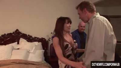Preview 1 of Sexy Jenla Moore Fucks While Her Husband Watches
