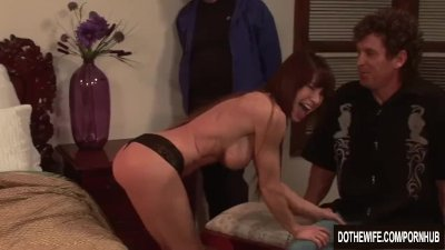 Preview 2 of Sexy Jenla Moore Fucks While Her Husband Watches