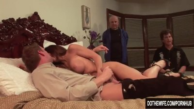 Preview 4 of Sexy Jenla Moore Fucks While Her Husband Watches