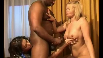 Interracial Dutch Threesome Anal For Two Dutch MILFs