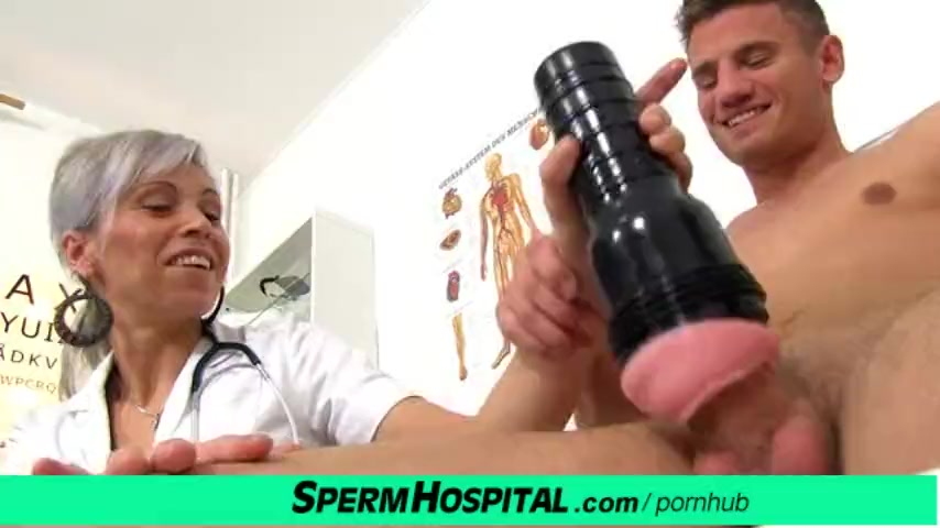 Preview 4 of Cfnm Penis Medical Checkup With Gorgeous Czech Milf Doctor Beate