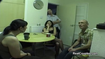 Preview 3 of Swingers Share Wives With Dp And Anal Sex