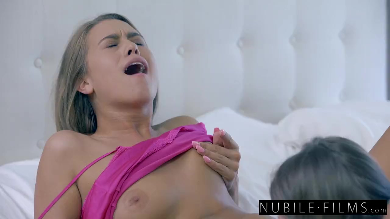 Preview 8 of Nubilefilms - Hot Bffs Scissor Fuck At Sleepover