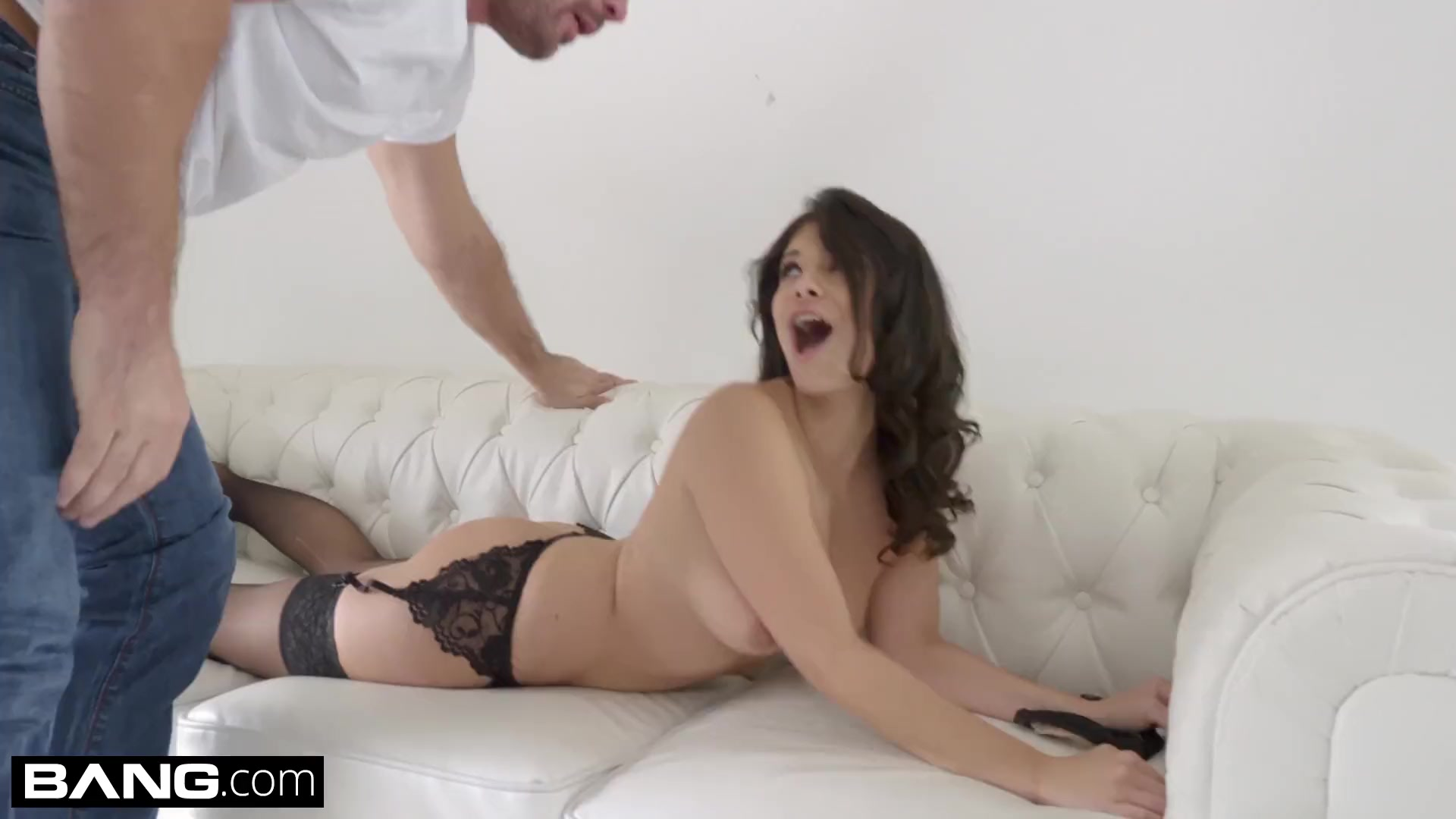Preview 2 of Bang Gonzo - Violet Starr Takes Fat Dick Deep In Her Pussy