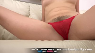 Preview 4 of Wetandpuffy - Marley Brinx Orgasms While Playing With Sex Toys