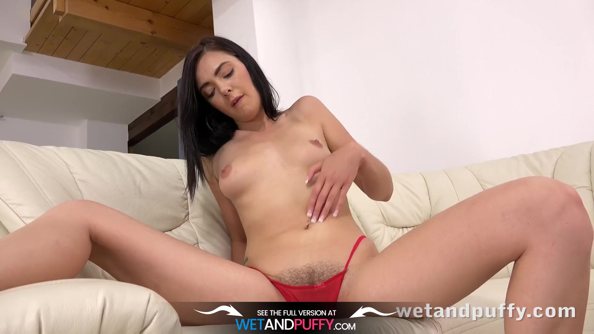 Preview 5 of Wetandpuffy - Marley Brinx Orgasms While Playing With Sex Toys
