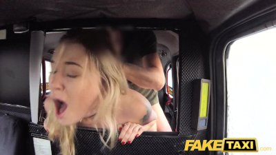 Fake Taxi Cute blonde tax inspector likes kinky rough sex