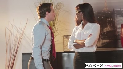 Preview 6 of Office Obsession - Bitch Boss Starring Tyler Nixon And Ana Foxxx