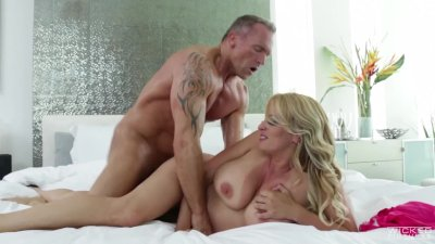 Wicked - The Madam, Busty blonde milf Stormy Daniels loves cock