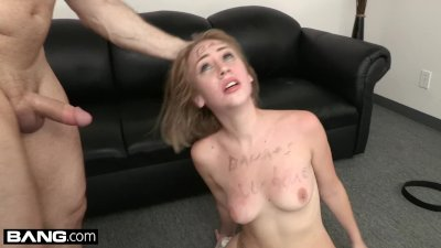 BANG Casting - Teen Amateur Iggy Amore Gets Covered in Cum