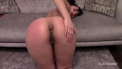 Naughty School Girl Spanked Hard (Full Clip On Manyvids.com)