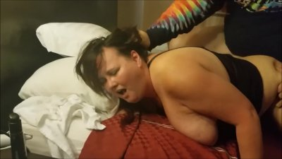 My First Bull Cock Ever. Husband films me getting pounded by 9 inches.