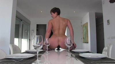 anal ON THE DINNER TABLE! XXX