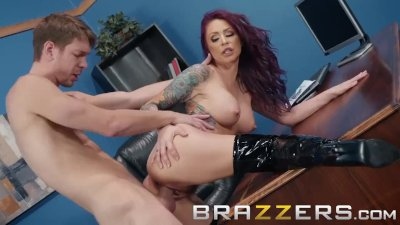 Brazzers - Monique Alexander wants her boots shined and her ass fucked