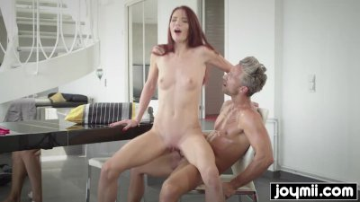 Bought my step daughter new lingerie and fucked her hard
