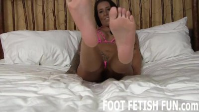 Preview 2 of Foot Fetish Femdom And Feet Worshiping Porn