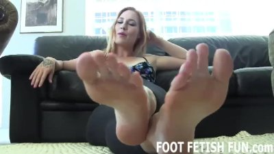 Preview 4 of Foot Fetish Femdom And Feet Worshiping Porn
