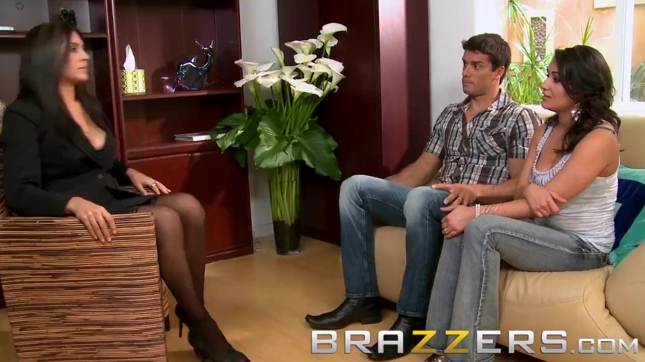 Preview 2 of Brazzers - Charley Chase & Raylene & Ramon - Threesome Therapy