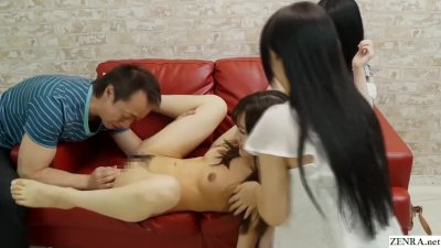 Preview 6 of Jav Amateur Friend Watches Sex Party Hd Subtitled