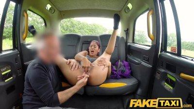 Fake Taxi Sahara gets a hard cock workout