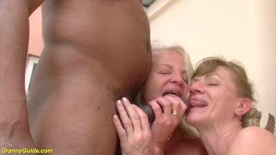 Preview 8 of 71 And 82 Years Old Grannies Interracial Anal Banged