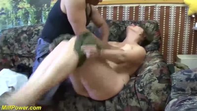 Preview 2 of Busty Chubby Milf First Time Anal Fucked