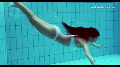 Preview 2 of Hungarian Teen Szilva Underwater Naked