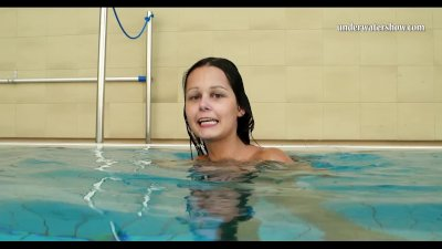 Preview 5 of Hungarian Teen Szilva Underwater Naked