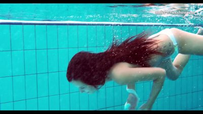 Preview 8 of Hungarian Teen Szilva Underwater Naked