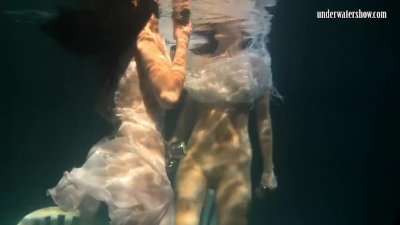 Preview 4 of Siskina And Polcharova Are Underwater Gymnasts