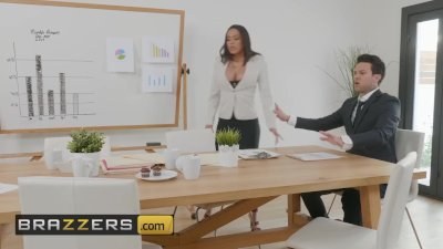 Preview 1 of Brazzers - Big Tit Office Slut Luna Star Gets All She Wants