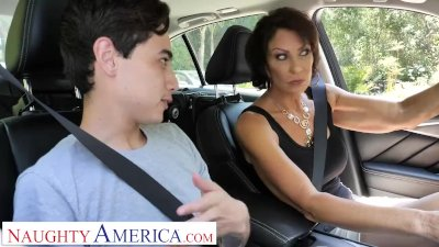 Preview 1 of Naughty America Vanessa Videl Teaches Juan How To Take Care Of A Woman