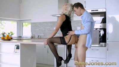 Dane Jones Afternoon anal sex with perfect blonde Zazie Skymm