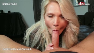 Preview 4 of Mydirtyhobby - Busty Milf Step-mom Deepthroats And Facialized
