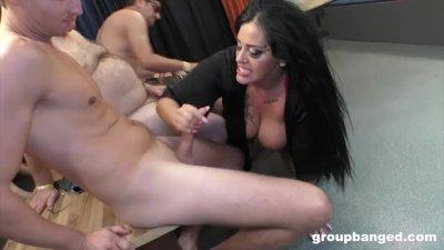 Ashley Cumstar Groupbanged Into a Gaping Fuck Slut