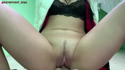 PICKUP IN GARAGE - REDHEAD CHEATED ON HER GUY FOR MONEY
