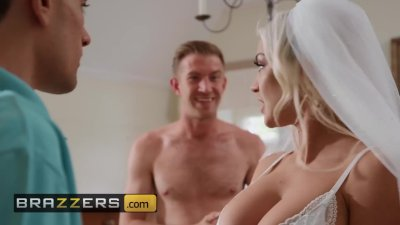 Brazzers - Bride to be Sienna Day takes two huge cock