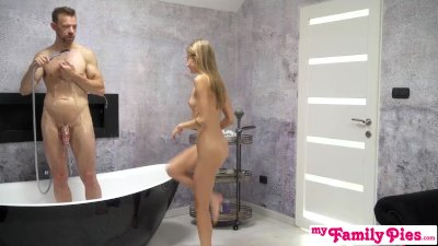 Preview 2 of Step Sister Tiffany Tatum Creampied Showing Me The European Way S11:e5