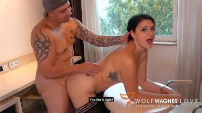 Taxi Blowjob & Hotel Fuck with MELINA MAY! WOLF WAGNER wolfwagner.love