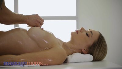 Preview 3 of Massage Rooms Young Babe Polina Max Gives Blowjob Finish On Milking Table