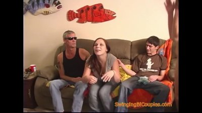 Preview 2 of Teenagers Have A Bisexual Swingers Orgy